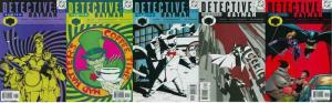 DETECTIVE 758-762 Unknowing & Trial Of The Catwoman COMICS BOOK