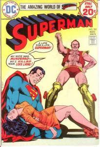 SUPERMAN 281 VG-F  November 1974 COMICS BOOK