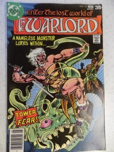 WARLORD # 10 DC BRONZE FANTASY SWORD ACTION ADVENTURE