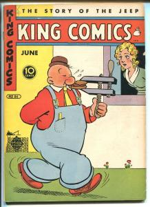 KING #86 1943-DAVID MCKAY-POPEYE-FLASH GORDON-MANDRAKE-PHANTOM-BLONDIE-vg/fn