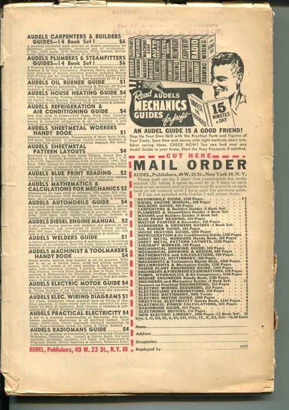 DETECTIVE STORY WINTER 1949-HARDBOILED CRIME STORIES-BRIDE COVER-vg minus