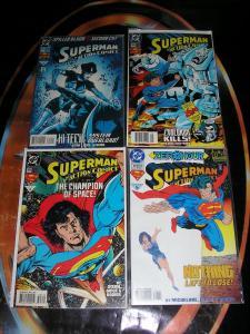 SUPERMAN IN ACTION COMICS (DC Comics), 1989-1997, 16 diff, 0, 640-740