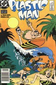 PLASTIC MAN  (1988 Series)  (DC) #3 NEWSSTAND Near Mint Comics Book