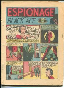 Smash #3 1939-Quality-Flash Fulton-Black Ace-Paul Gustafson-FR
