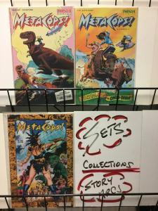 META COPS (1991 MCX) 1-3  complete series!