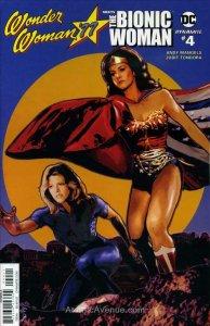 Wonder Woman '77 Meets the Bionic Woman #4A FN; Dynamite   save on shipping - de