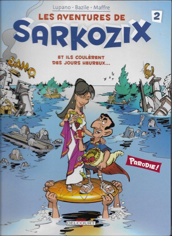 Aventures de Sarkozix #2 VF/NM (French) HC