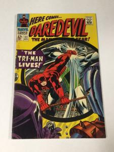 Daredevil 22 5.0 Vg/fn Very Good / Fine Marvel Silver Age