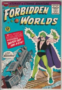 Forbidden Worlds #126 (Mar-65) VF/NM High-Grade Magicman