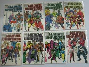 Marvel Universe Update '89 set #1-8 8.0 VF (1989)
