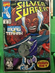 Silver Surfer #80 Morg vs Terrax