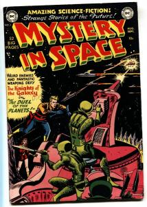 MYSTERY IN SPACE  #3-1951-DC-KNIGHT OF THE GALAXY-FN/VF