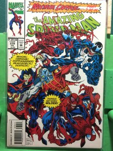 the Amazing Spider-Man #379 Maximum Carnage part 7 of 14