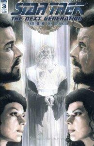 Star Trek: The Next Generation: Through The Mirror #3A VF/NM; IDW | save on ship