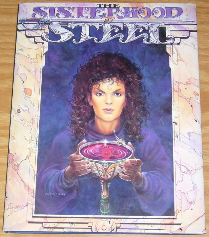 Sisterhood of Steel HC VF/NM signed limited edition hardcover with newsletter