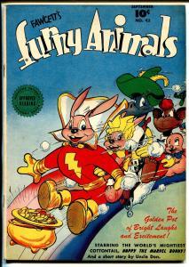 Fawcett's Funny Animals #42 1946-Hoppy The Marvel Bunny-Capt Marvel ad-VF-