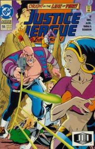 Justice League Europe #55, VF+ (Stock photo)
