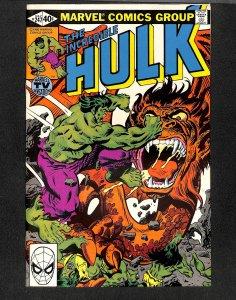 The Incredible Hulk #247 (1980)