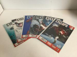 Cyclops 1-6 Lot Set Run Nm Near Mint Marvel Comics A10