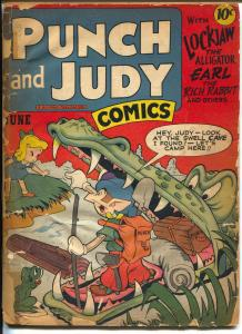 Punch and Judy Vol. 2 #11 1947-Hillman-2 Jack Kirby stories-FR
