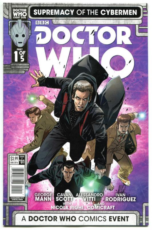 DOCTOR WHO Supremacy of the CYBERMEN 1 A, NM, Tardis, 2016, 1st,more DW in store