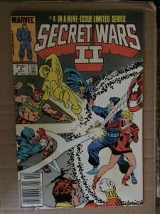 Secret Wars II #4