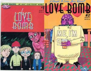 LOVE BOMB (1999 ABACULUS) 1-2  PAUL RAINEY