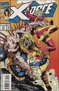Marvel X-FORCE (1991 Series) #37 VF