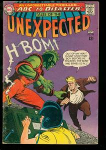 TALES OF THE UNEXPECTED #103 1967 DC EGYPTOLOGY ISSUE VG/FN