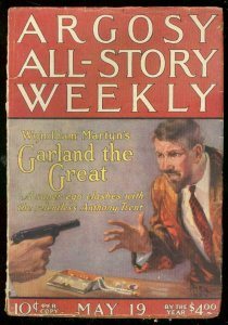ARGOSY MAY 19 1923-MOON MAID-EDGAR RICE BURROUGHS-good/very good G/VG
