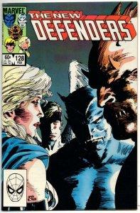 DEFENDERS #128, NM-, Valkyrie, Gargoyle, Beast, 1972 1984, Marvel