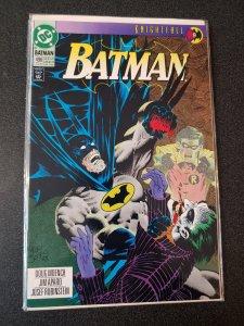Batman #496 NM Cond Joker Cover Knightfall 9