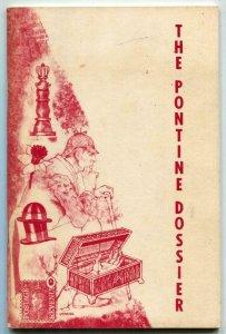 The Pontine Dossier Fanzine #2 1971-Fu Manchu- Sherlock Holmes