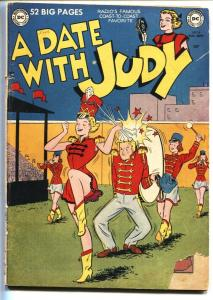 Date With Judy #18 1950-DC-teen humor-Good Girl Art-G