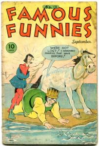 FAMOUS FUNNIES #134-'45-CHIEF WAHOO-BUCK ROGERS-CARLSON G