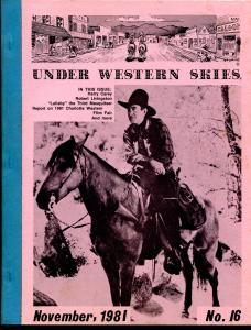 Under Western Skies #15 7111981-Harry Carey-Robert Livingston-B-Westerns-VG