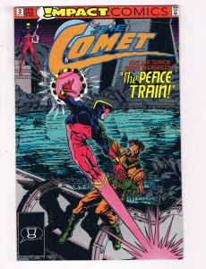 The Comet #3 VF Impact Comics Comic Book 1991 DE22