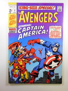 The Avengers Annual #3 (1969) FN/VF