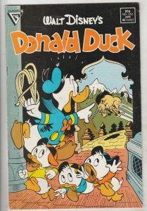 Donald Duck #252 (Mar-87) FN/VF Mid-High-Grade Donald Duck