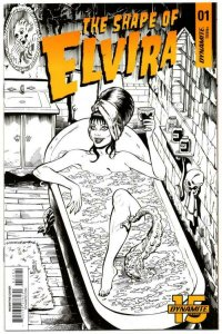 The Shape of ELVIRA #1 I, VF/NM, Dynamite, 2019, more indies in store, Acosta