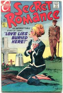 SECRET ROMANCE-#1-1968-GRAVEYARD COVER VG