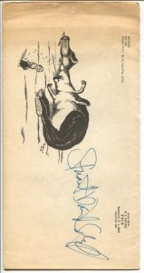 Whispers1976-signed by Schiff-mini issue-10 pages-bio & fantasy writing-FN-