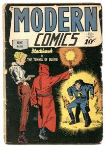 Modern Comics #98 1950- Blackhawk- Torchy -G
