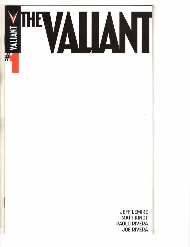 The Valiant # 1 NM 1st Print Blank Sketch Variant Cover Comic Book MK2