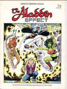 ALADDIN EFFECT / MARVEL GN #16, TPB, 1st, VF+, 1985, She-Hulk, Tigra, Storm