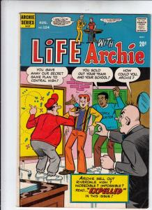 Life with Archie #124 (Aug-72) VF+ High-Grade Archie, Jughead, Betty, Veronic...