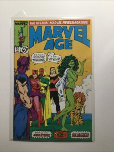 Marvel Age 70 Near Mint Nm Marvel