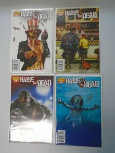Raise the Dead set #1-4 8.0 VF (2007 Dynamite)