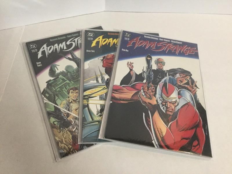 Adam Strange Book 1-3 Lot Set Run Nm Near Mint DC Comics A42