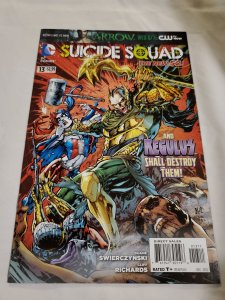 Suicide Squad 13 Near Mint Cover by Ken Lashley